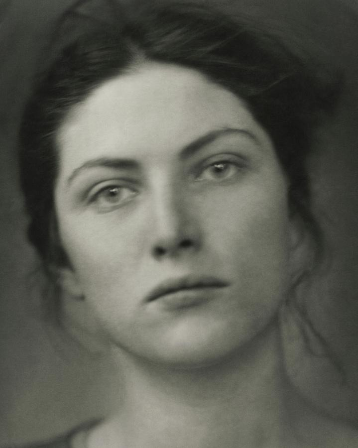 Close-up Portrait Of Winifred Lenihan Photograph by Edward Steichen