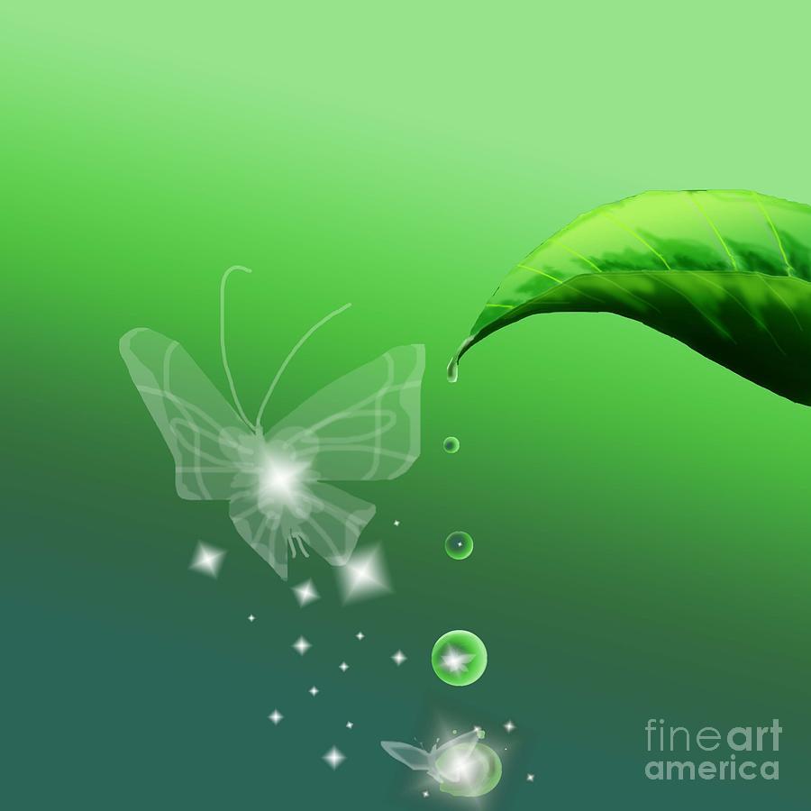 Faerie Digital Art - Closer by Alice Chen