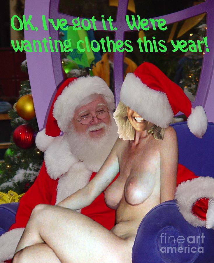 Nude Photograph - Clothes for Christmas by Broken  Soldier