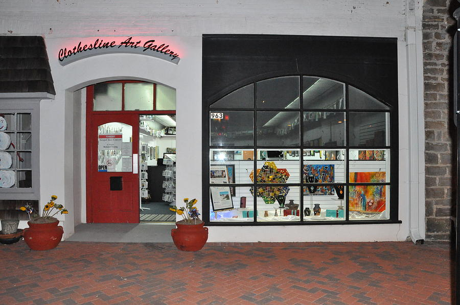 Clothesline Gallery Front by Tracie L Hawkins