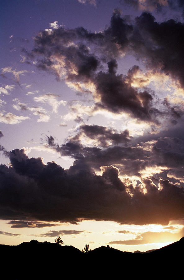 Mountain Sunset Photograph - Mountain Sunset by Jim Cotton