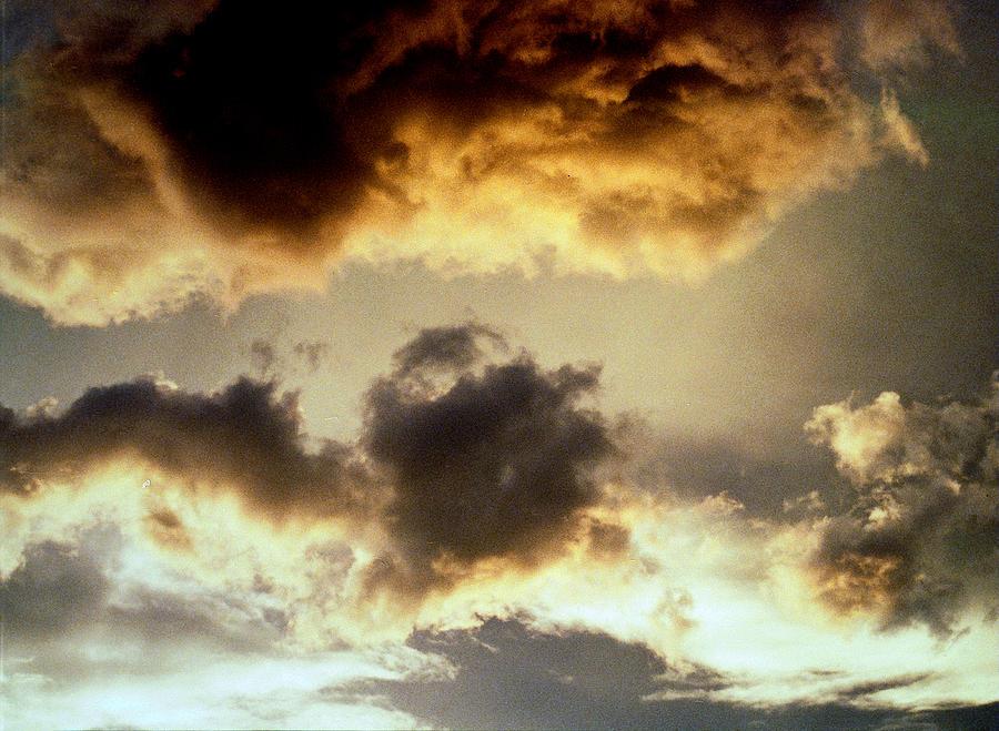 Golden Cloud Photograph - Golden Cloud by Jim Cotton