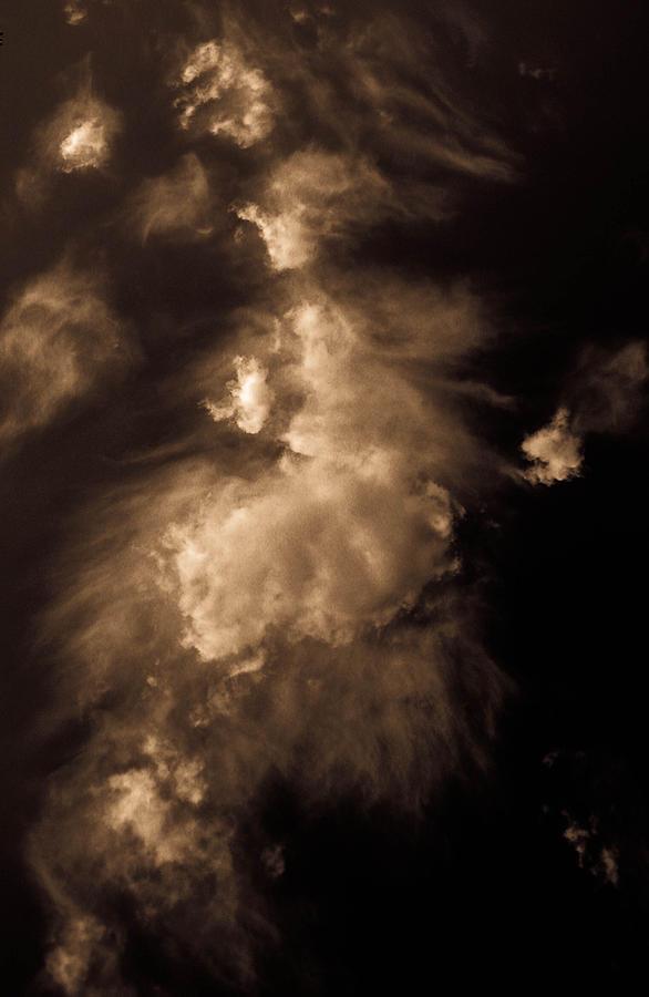 Cloud Photograph - Cloud Apparition by Christy Usilton