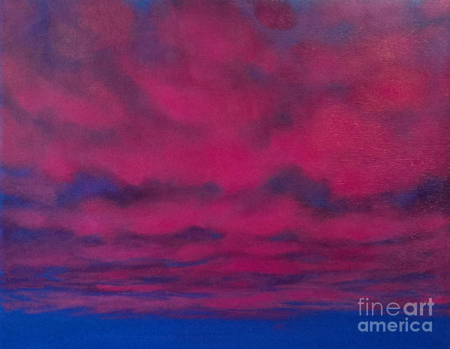 Clouds Painting - Cloud Art by Cynthia Vaught