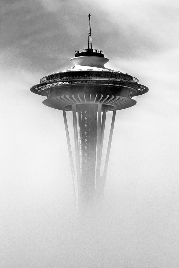 Space Needle Photograph - Cloud City 1962 by Benjamin Yeager