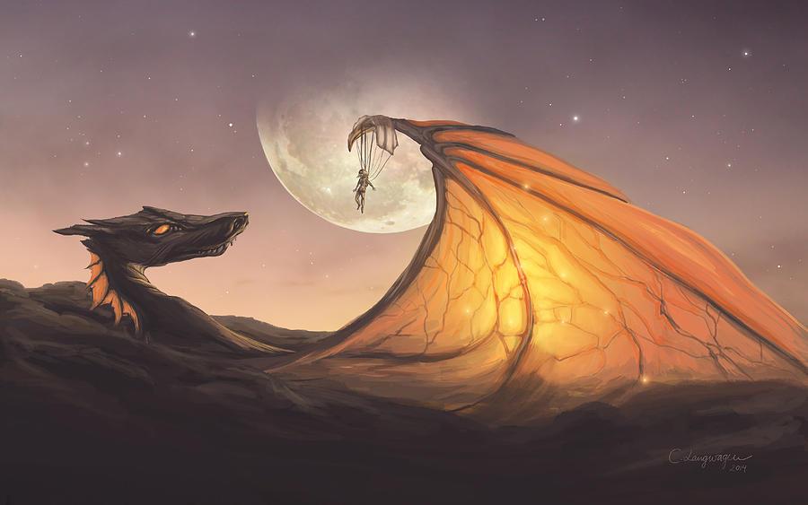 Cloud Dragon by Cassiopeia Art