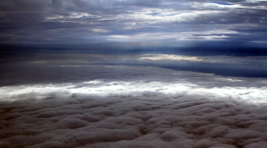 Cloud Photograph - Cloud Layers 1 by Maxwell Amaro