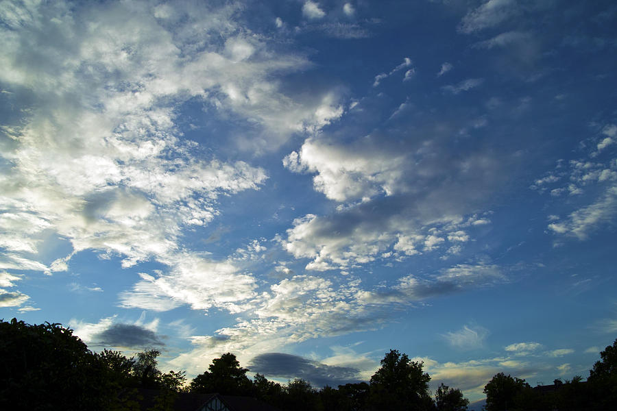 Cloud Scatter Photograph by Baato