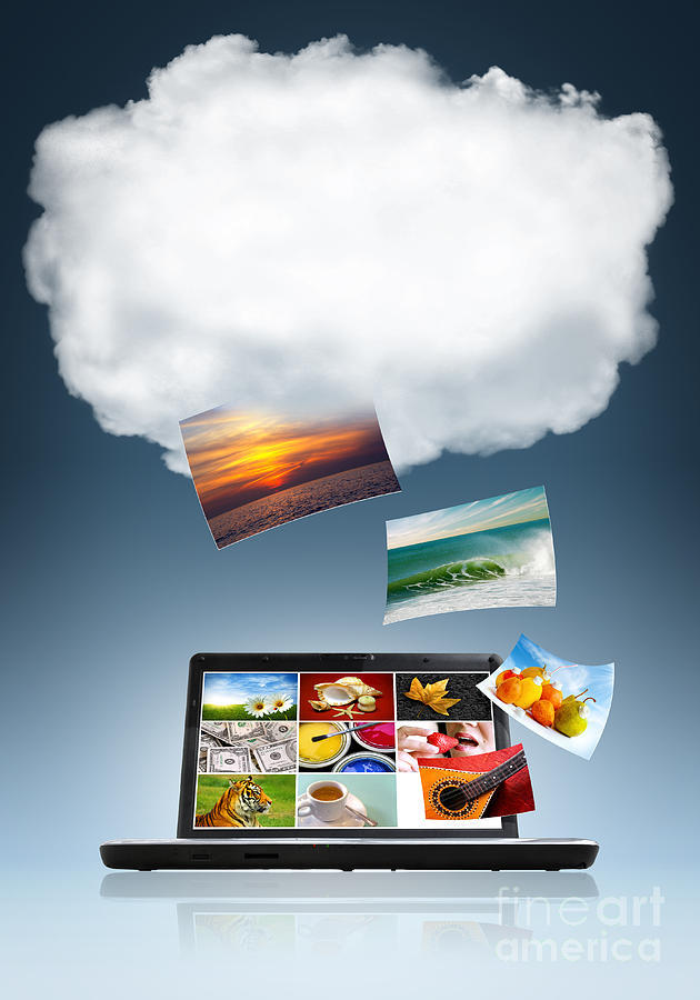 Application Photograph - Cloud Technology by Carlos Caetano