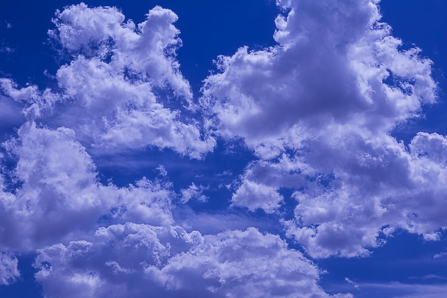 Bright Photograph - Cloud Watching by Garry Gay