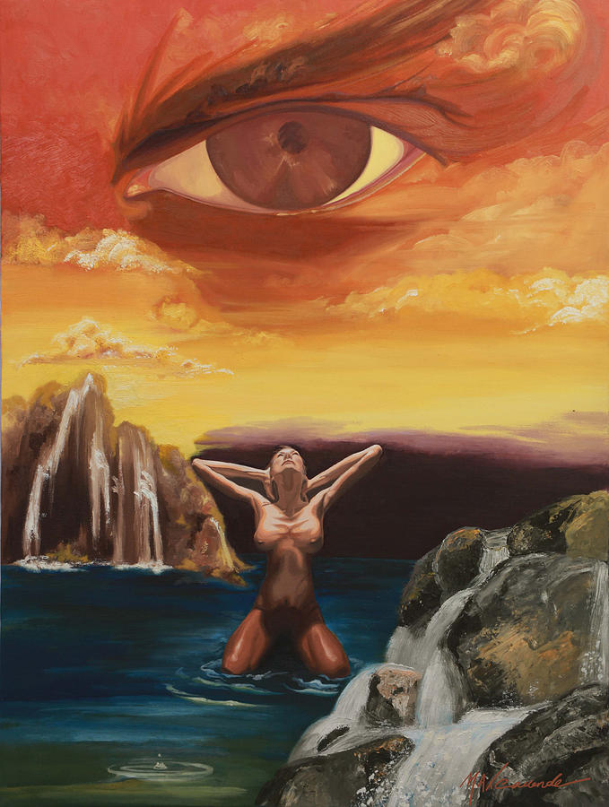 Surreal Painting - Clouded Mind by Max CALLENDER