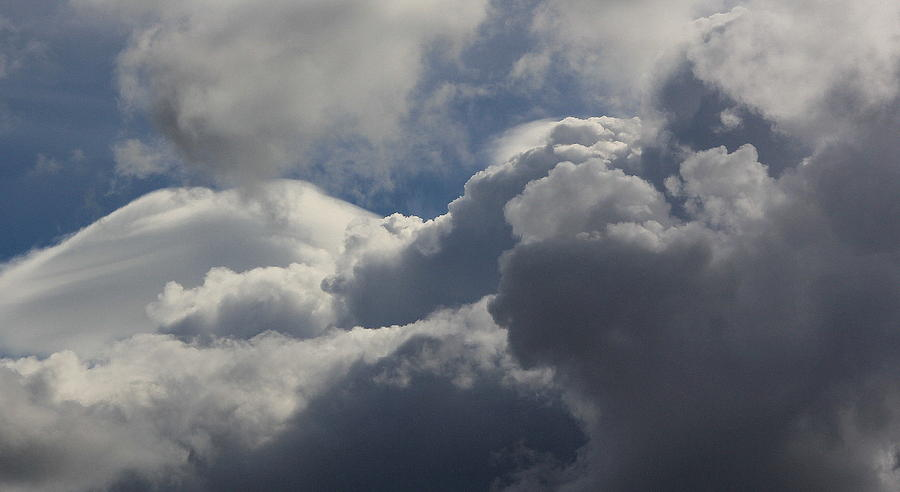 Clouds Photograph - Clouds After The Storm by Ron Romanosky