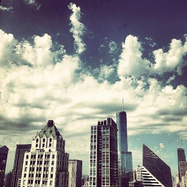 Cloud Photograph - Clouds by Jill Tuinier