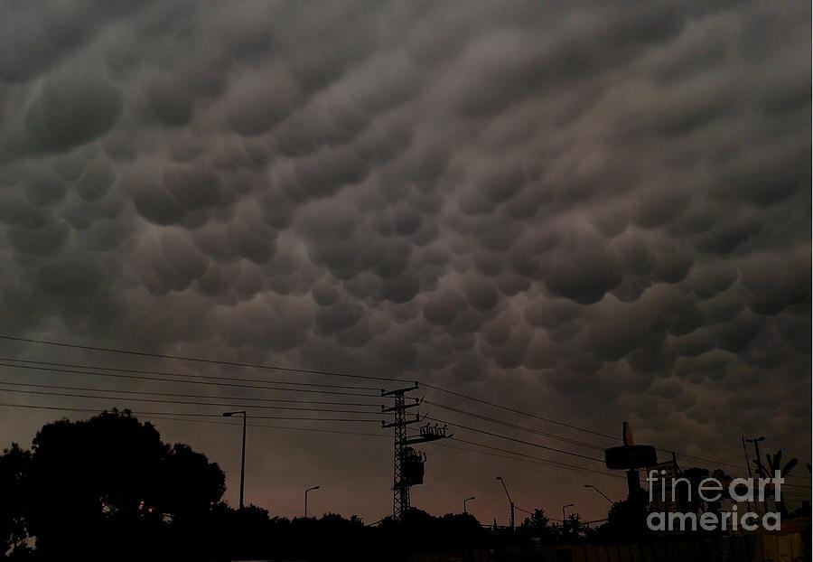 Clouds Photograph by Maya B