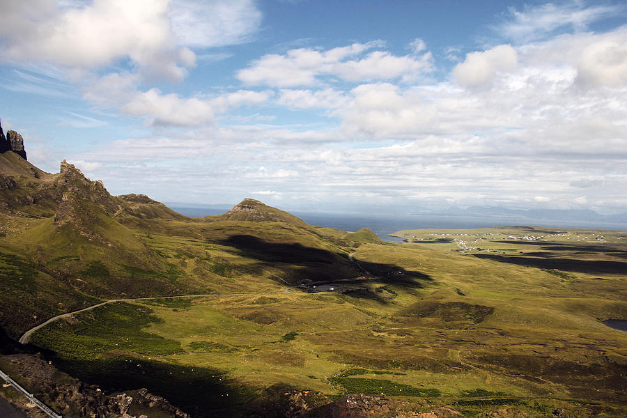 Isle Photograph - Clouds on Skye by Anthony Bean