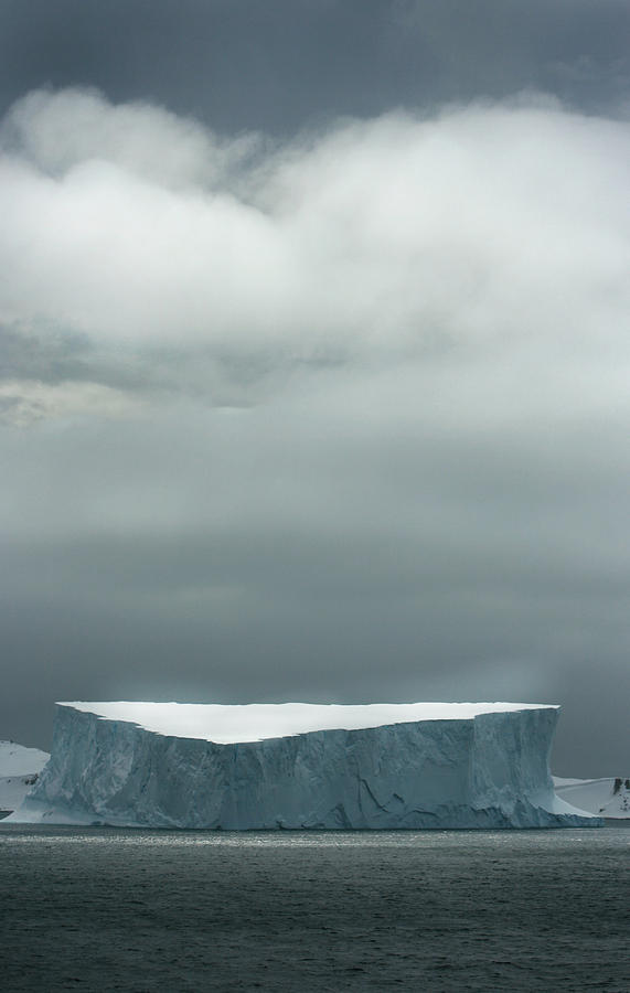 Icebergs Photograph - Clouds Over Ice by Amanda Stadther