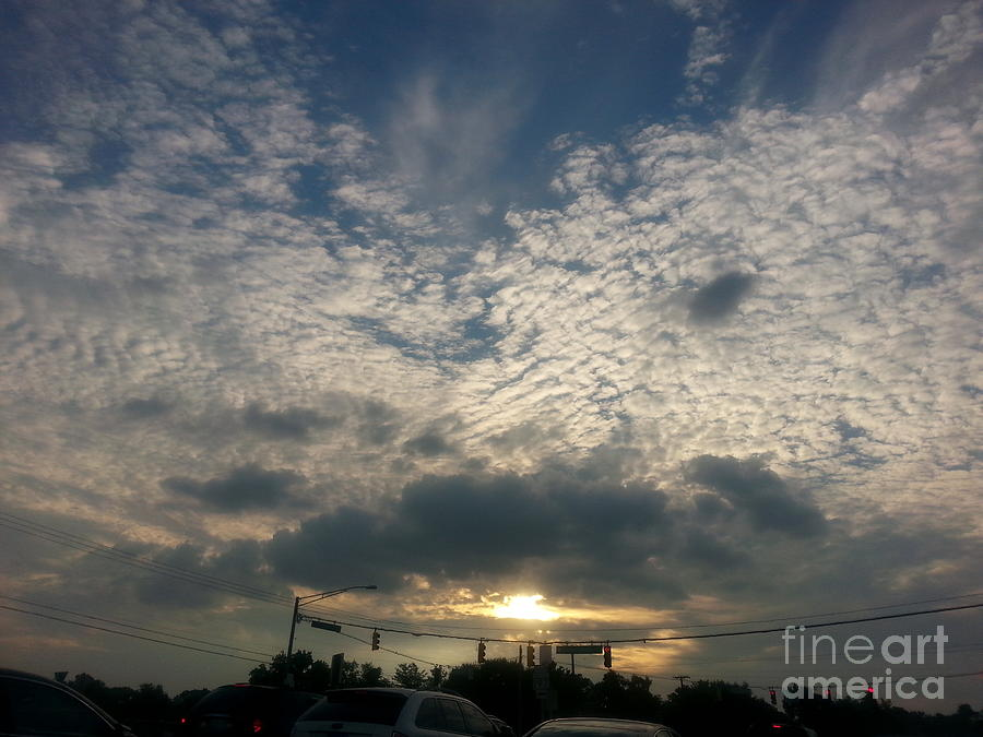 Clouds Photograph - Clouds Over Maryland by Emmy Marie Vickers