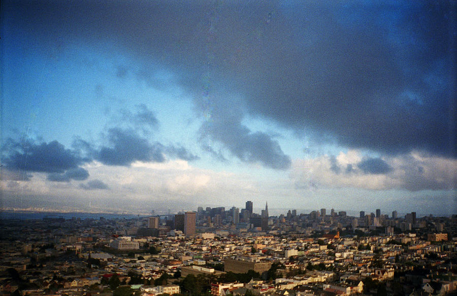San Francisco Photograph - Clouds Over San Francisco by Eric Miller
