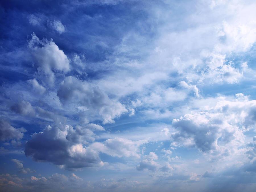 Clouds Photograph - Cloudscape 5 by Tom Druin