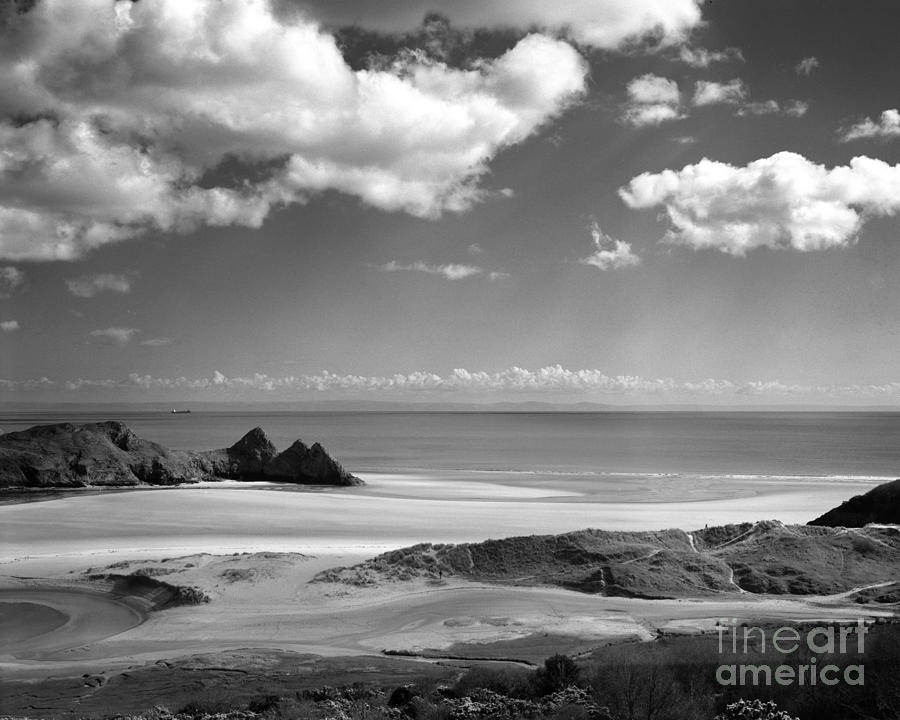 Cloudscape at Three Cliffs by Paul Cowan