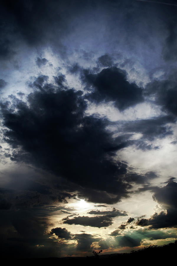 Cloudscape, Upcoming Thunderstorm Photograph by Ollo