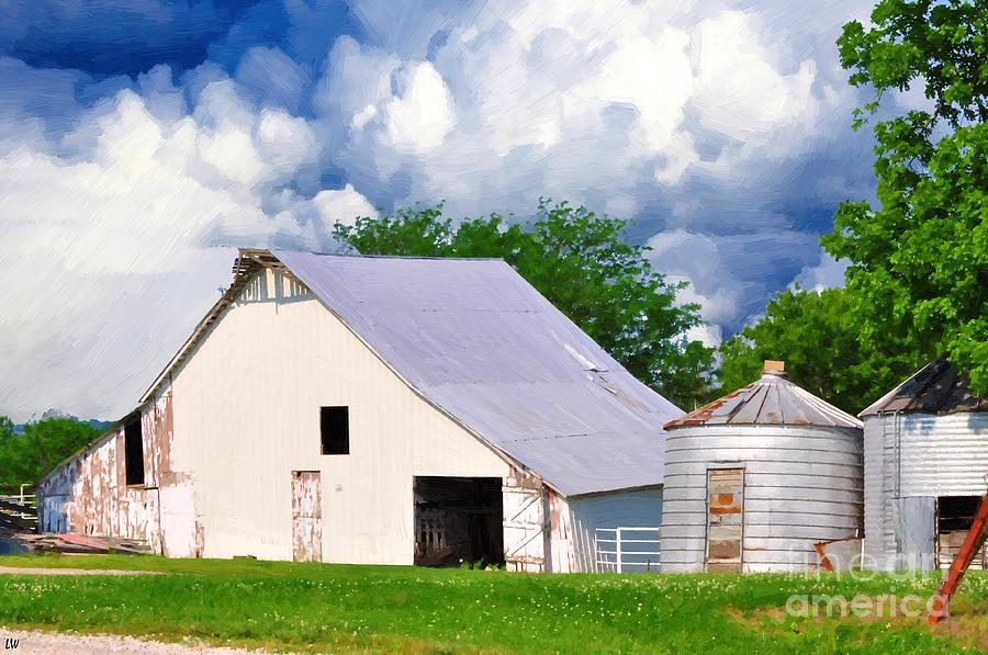 Cloudy Day In The Country Painting - Cloudy Day In The Country by Liane Wright
