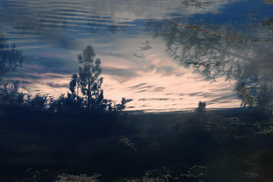 Clouds Photograph - Cloudy Lake by Nicole Swanger