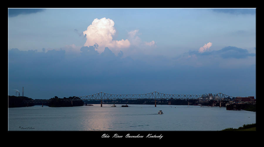 David Lester Photograph - Clover Cary Bridge 2 by David Lester