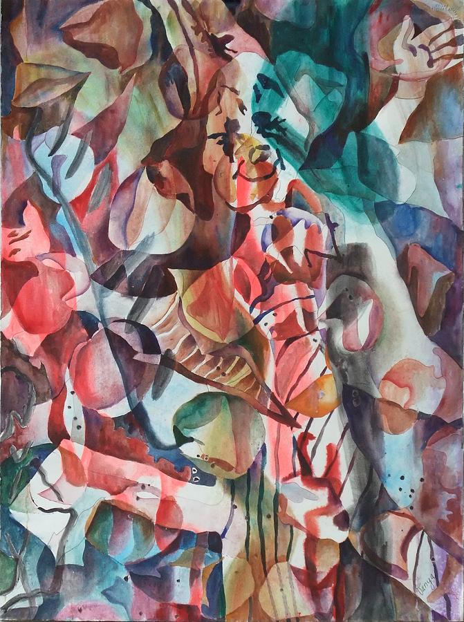Clown Painting - Clown I by Vanya