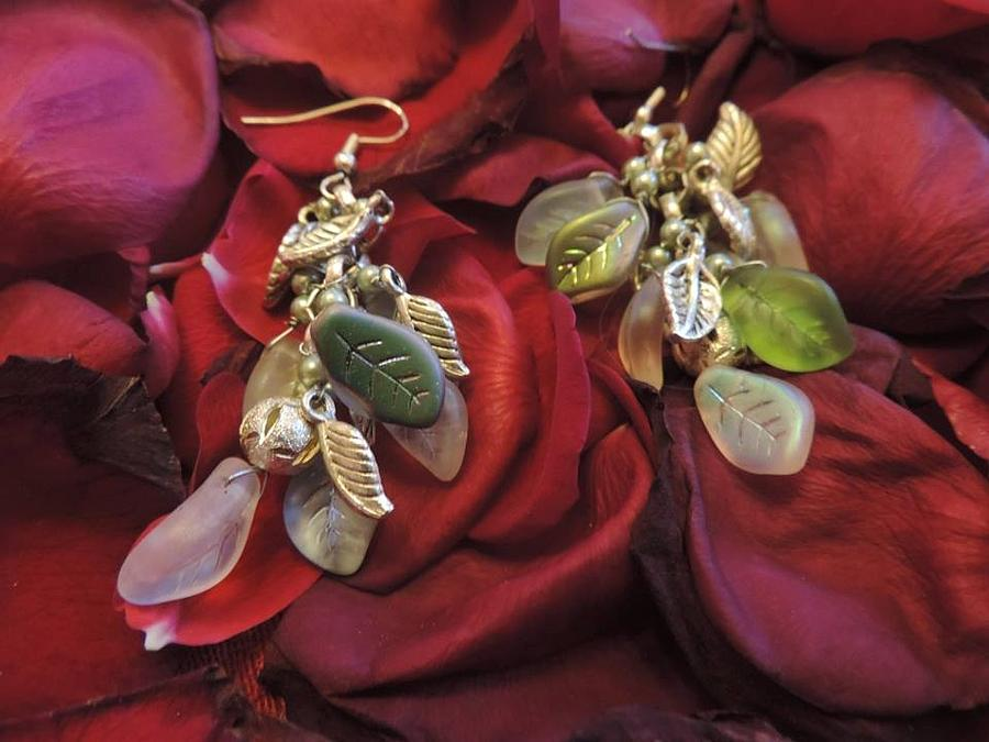 Earrings Jewelry - Clutter Of Spring by Darcy Lewis