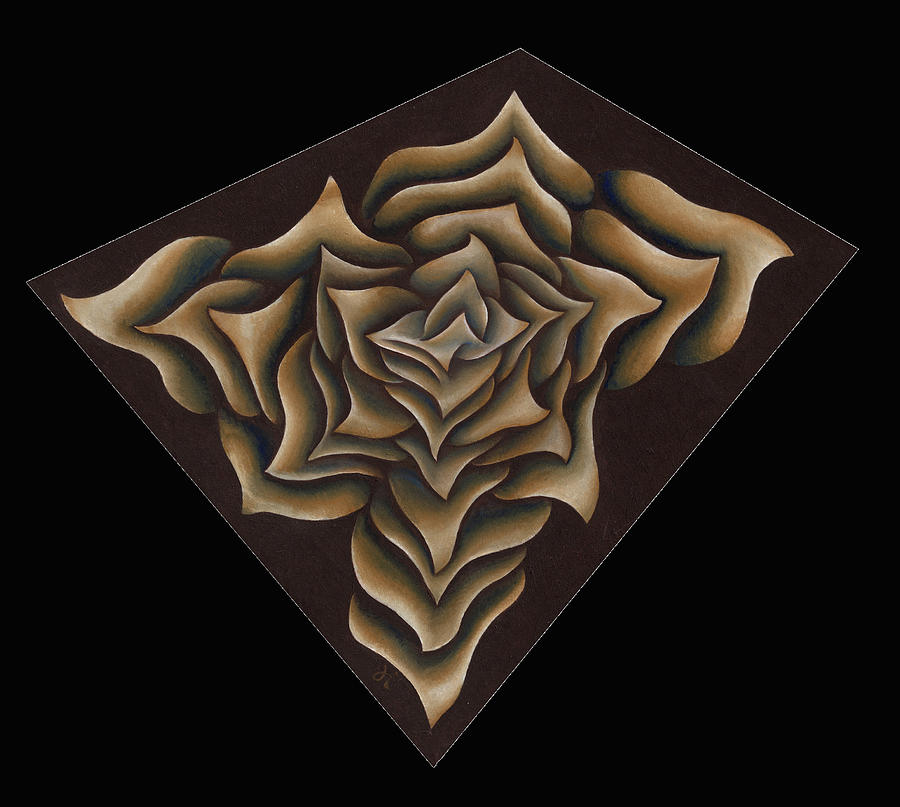 Brown Painting - Layers Clxxxix by Diana Durr