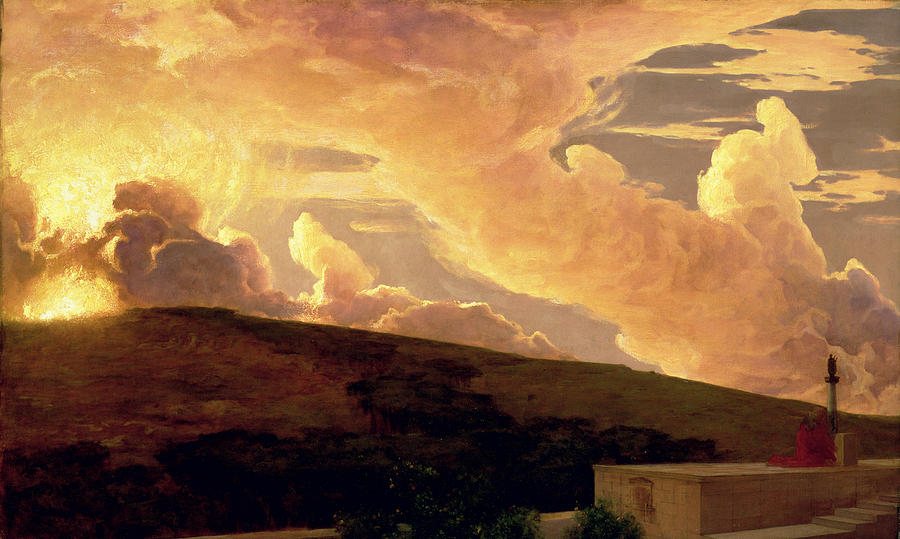 Dawn Painting - Clytie, C.1890-92 by Frederic Leighton