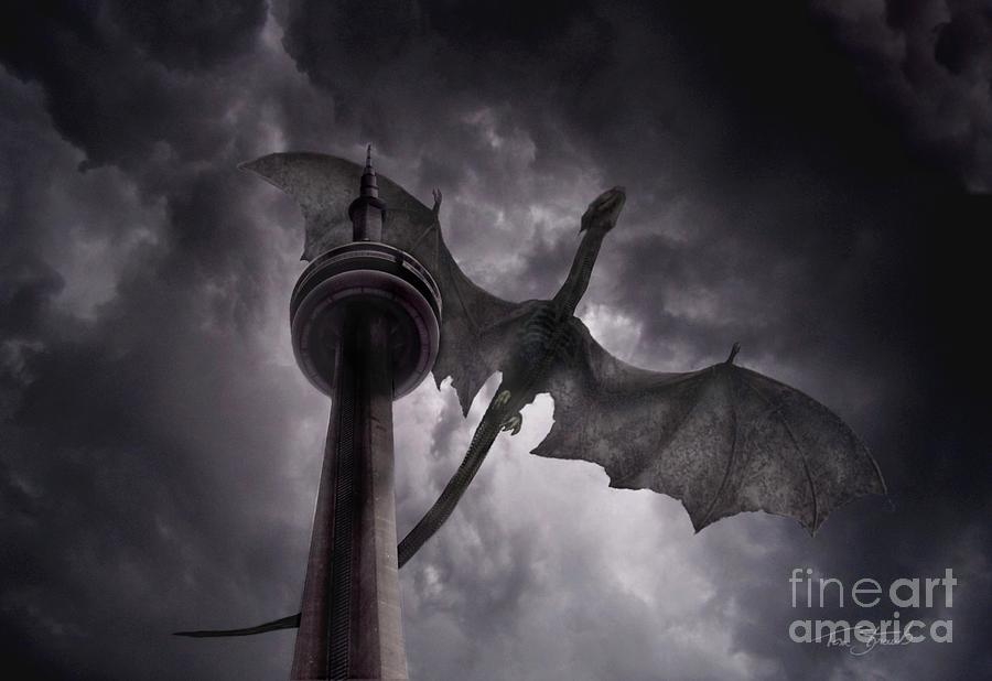 Dragon Photograph - Cn Dragon by Tom Straub