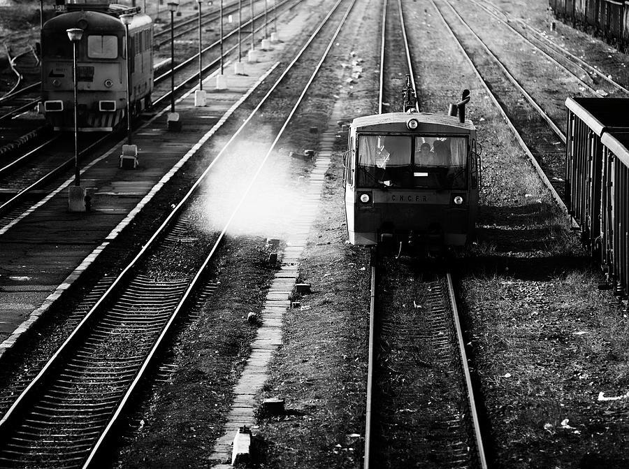 Trainstation Photograph - Cncfr by Julien Oncete