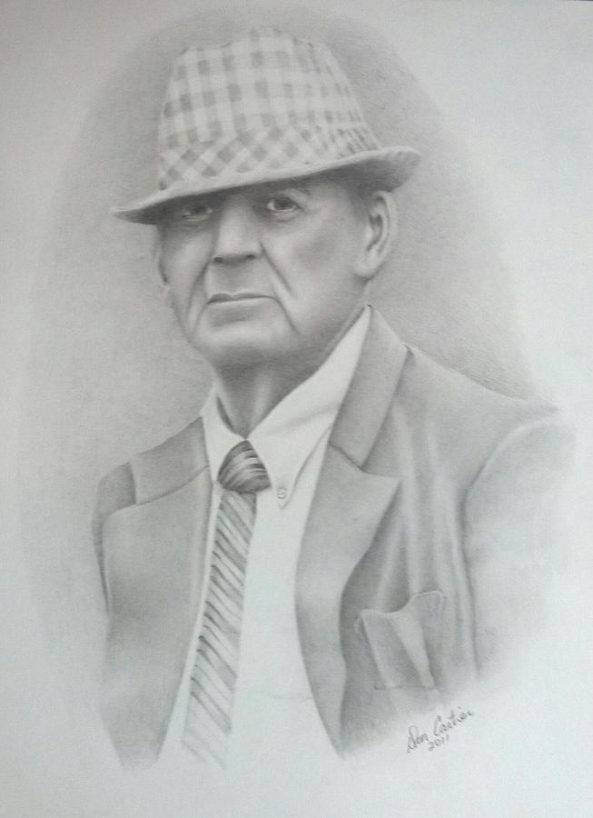 Coach Drawing - Coach by Don Cartier