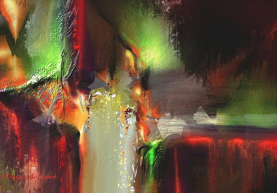 Abstract Painting - Coalition by Francoise Dugourd-Caput