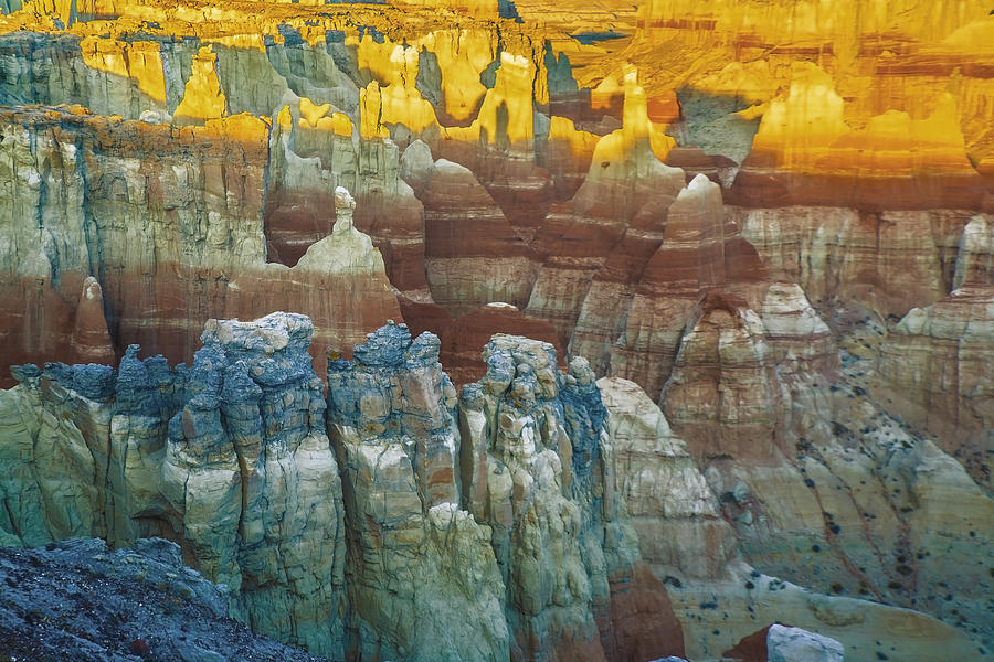Erosion Photograph - Coalmine Canyon by Michael Just