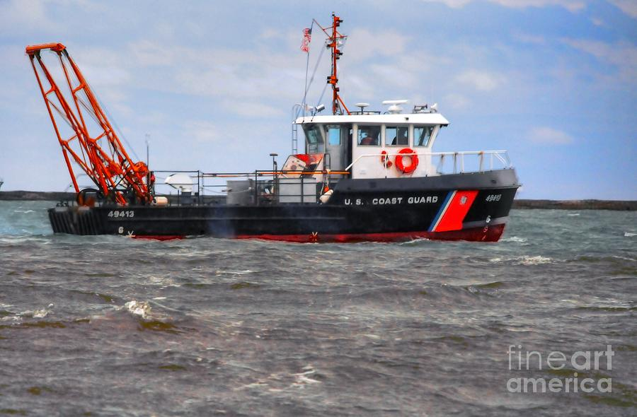 United Photograph - Coast Guard by Kathleen Struckle