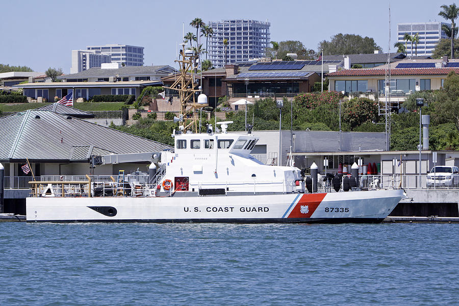 Coast Guard Photograph - Coast Guard by Shoal Hollingsworth