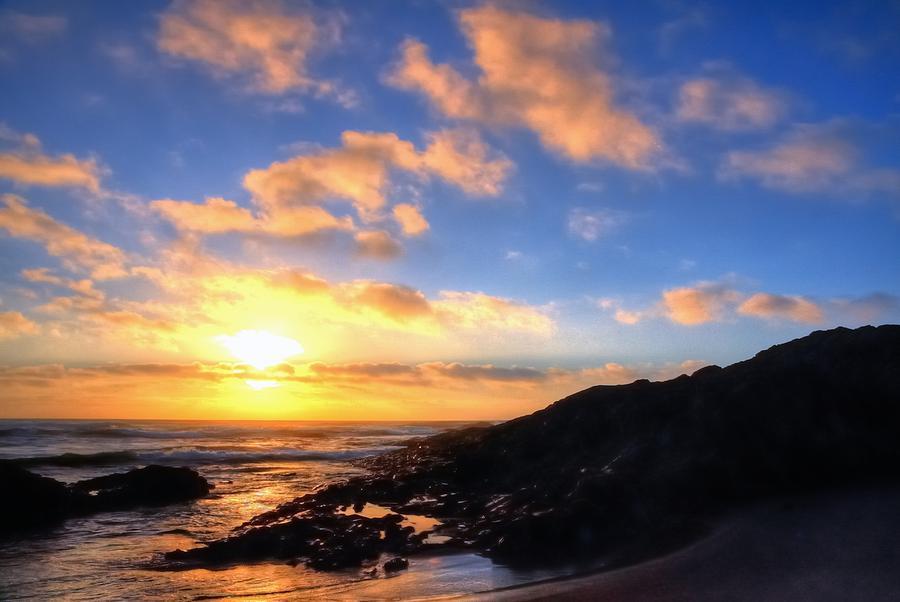 Coast Sunset 17808 Photograph