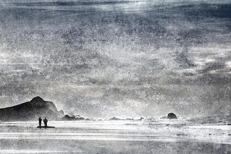 Coast  - Coast Walk by Carol Leigh