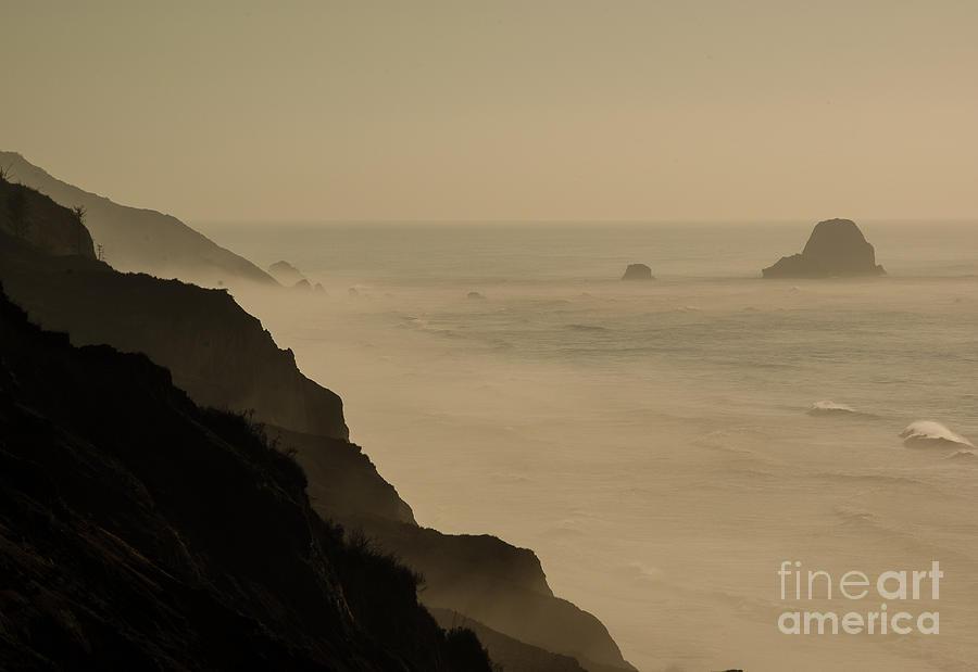 Coastal California Photograph - Coastal California  1.7143 by Stephen Parker