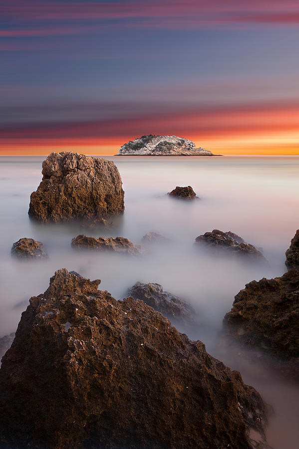 Waterscape Photograph - Coastal Glory by Jorge Maia