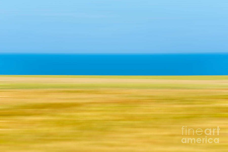 Abstract Photograph - Coastal Horizon 9 by Delphimages Photo Creations