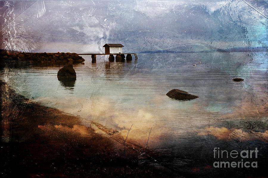 Pier Photograph - Coastal Path by Randi Grace Nilsberg
