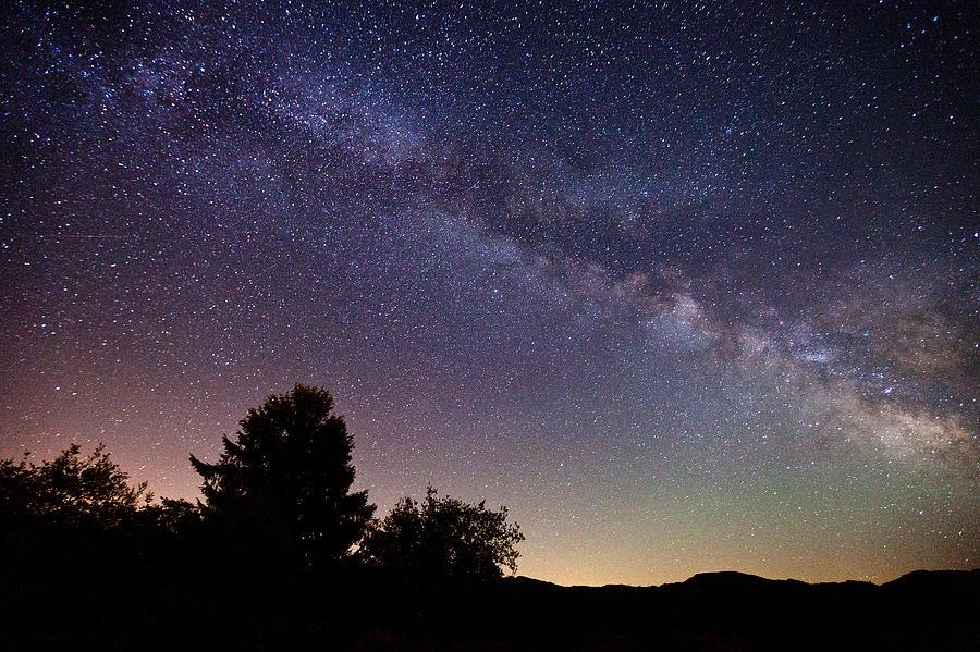 Milky Way Photograph - Coastal Skies by Darren  White
