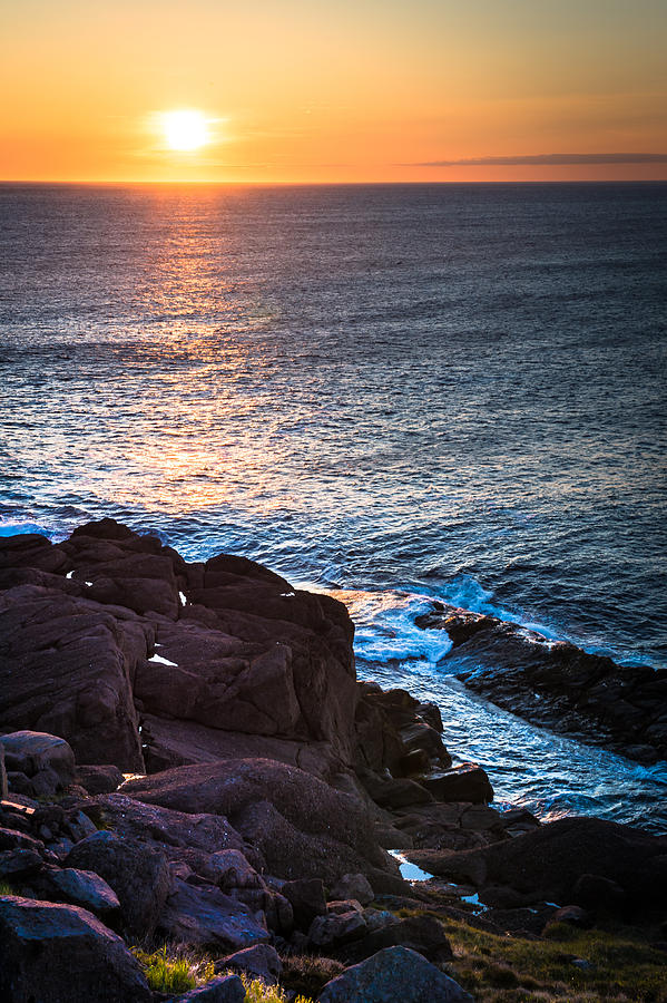 Cape Spear Photograph - Coastal Sunrise by David Pinsent