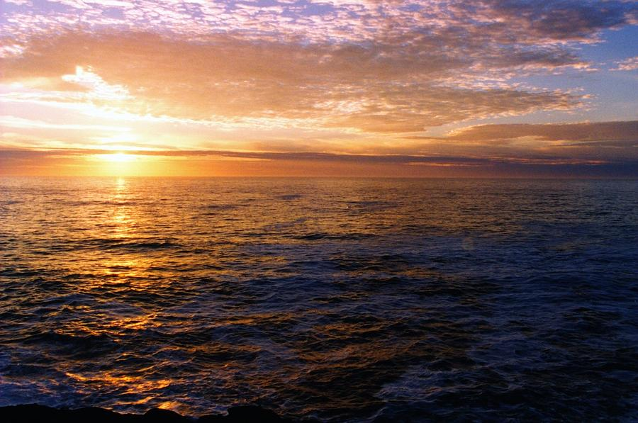Coastal Sunset 11611 Photograph