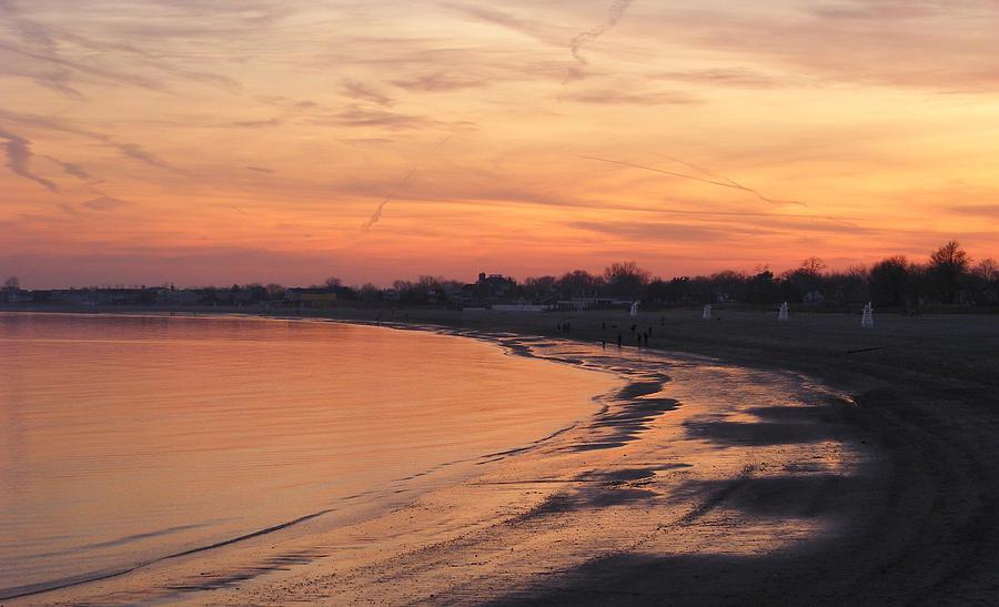 Sunset Photograph - Coastal Sunset  II by Margie Avellino