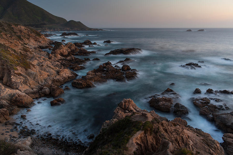 California Photograph - Coastal Tranquility by Mike Reid